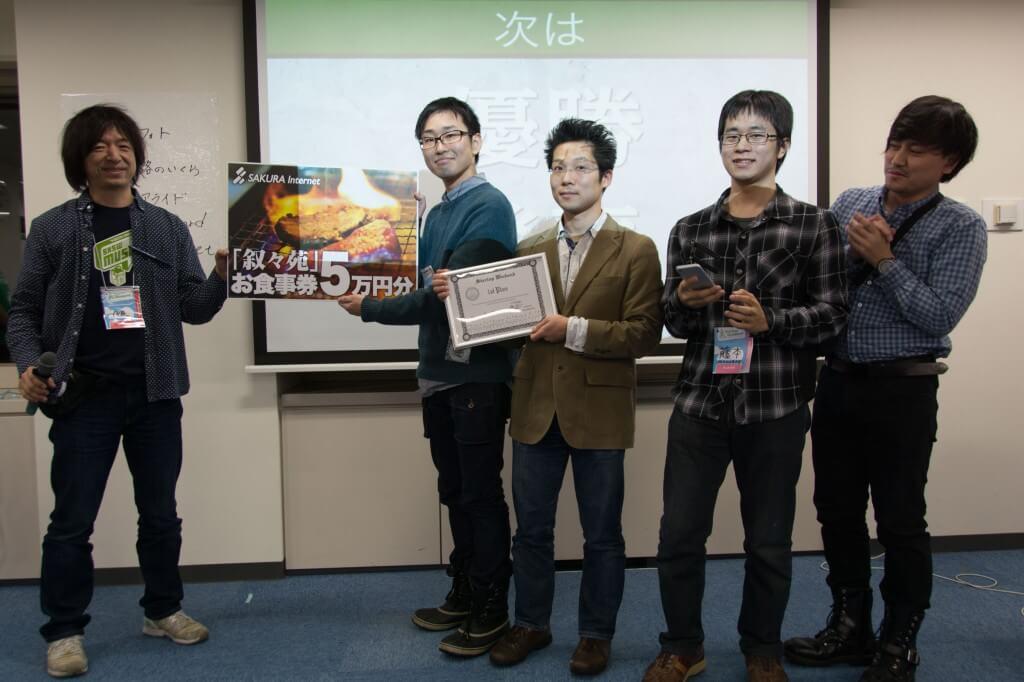 Startup Weekend Sapporo 優勝「StartAPP」